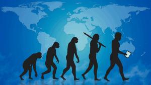 De Ontwikkeling Van Leven Op Aarde Evolutie